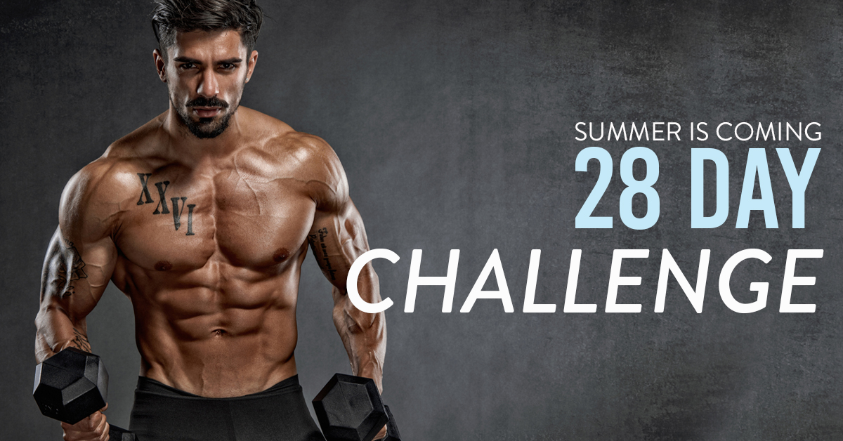 28 DAY_FITNESS_MALE_SUMMER IN COMING_XX11 FIERCE LOOK_LINK AD